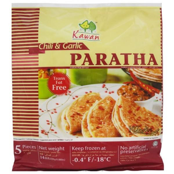 Kawan Chilli and Garlic Paratha 5 Pieces