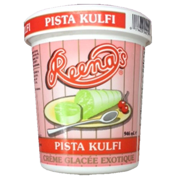 Reena Pista Kulfi icecream 4 oz / 118 ml