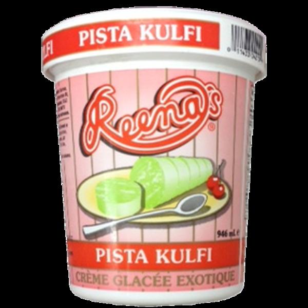 Reena Pista Kulfi icecream 4 oz / 118 ml