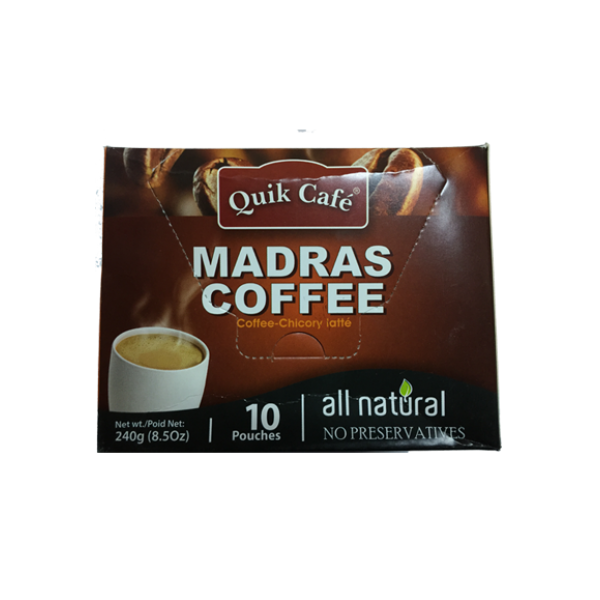 Quick Café Madras Coffee 8.5 OZ / 241 Gms