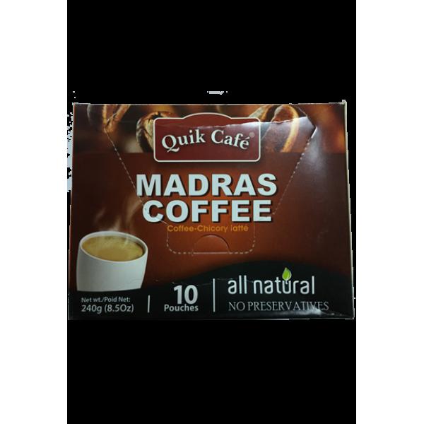 Quick Café Mdras Coffee 8.5 OZ / 241 Gms
