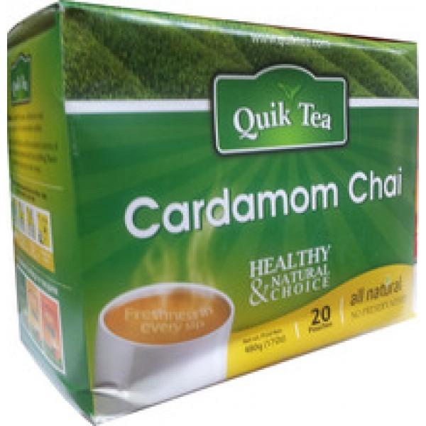 Quick Tea Cardamom Chai 17 OZ / 482 Gms
