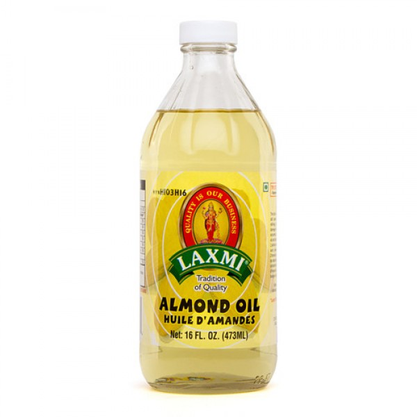 Laxmi Almond Oil 16 Oz / 473 ml