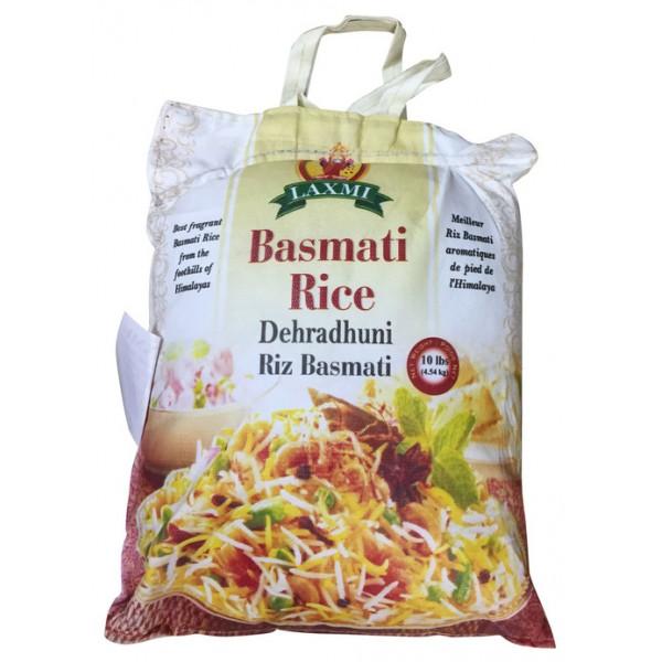 Laxmi Dehradhuni Basmati Rice 10lb
