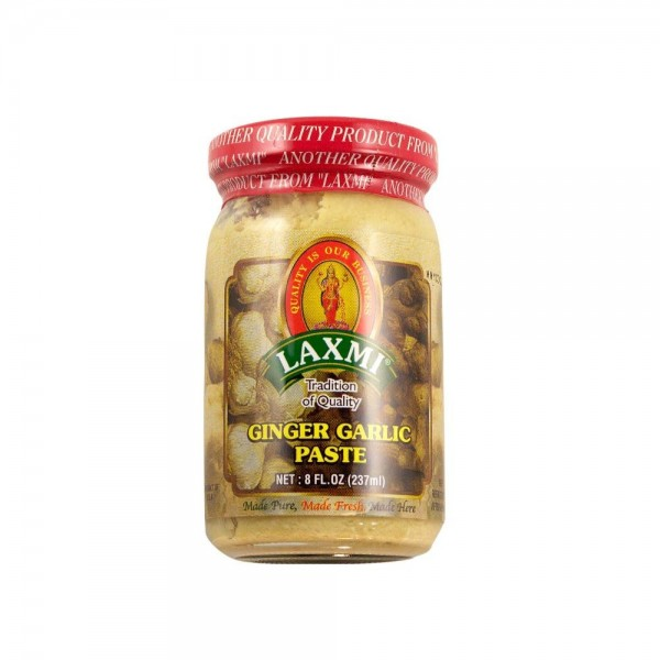 Laxmi Ginger & Garlic Paste 8 Oz / 237 ml