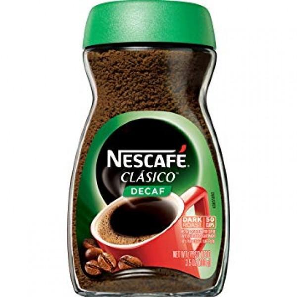 Nescafe Clasico Decaf 3.5 OZ / 100 Gms