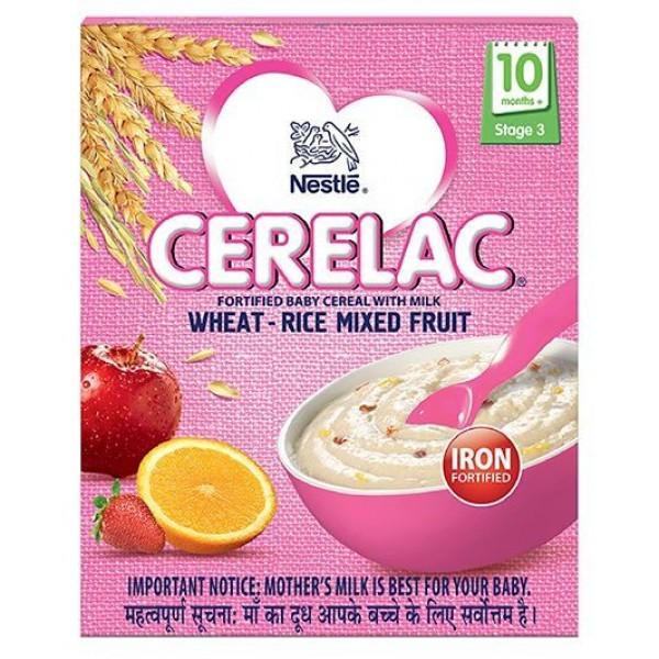 NestleCeralac Wheat-Rice Mixed Fruit 10.54 OZ / 300 Gms