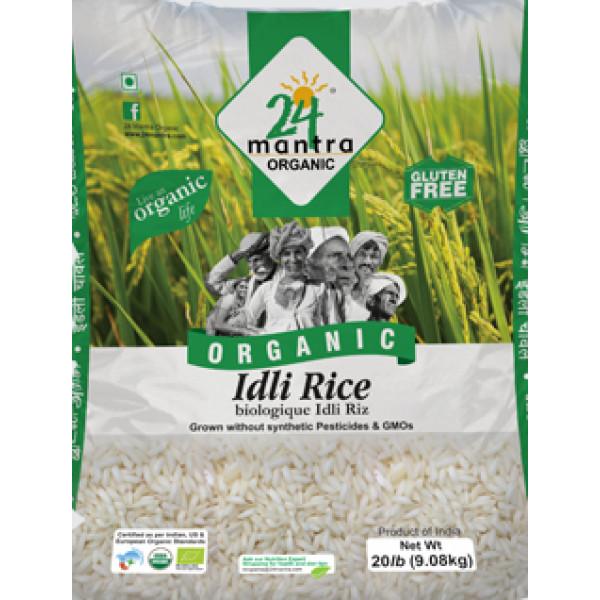24 Mantra Organic Idly Rice 20lb