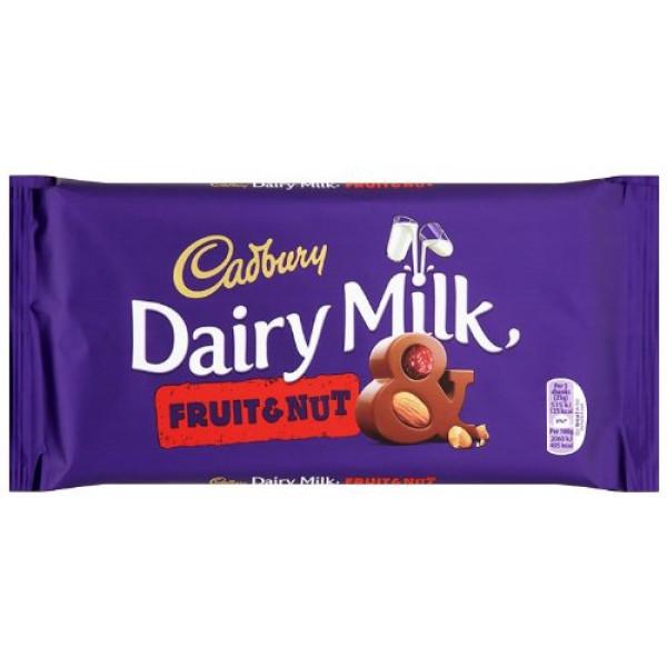Cadbury Dairy Milk Fruit&Nut  200 Gms