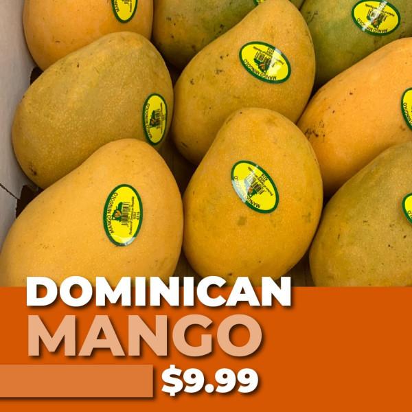 DOMINICAN MANGO Box ( Very Very Sweet)