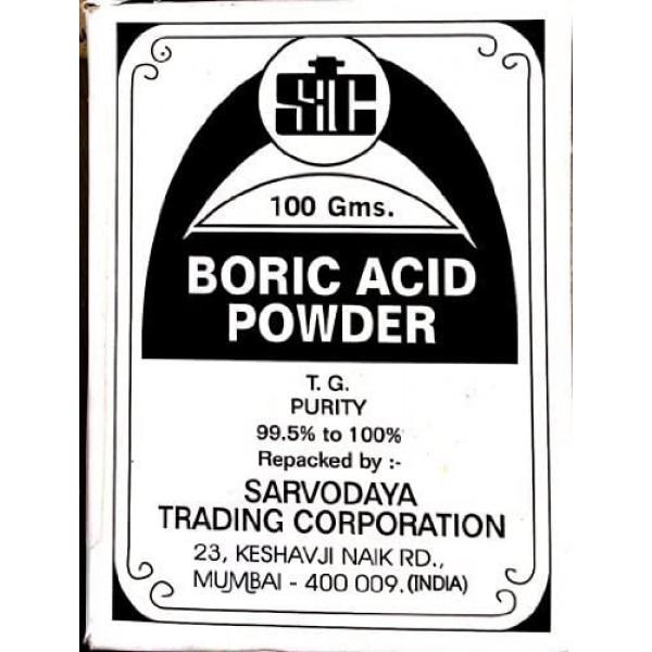 Boric Acid Powder /Use for Carrom Board, Dancing Floor ,  350z/ 100 Gms