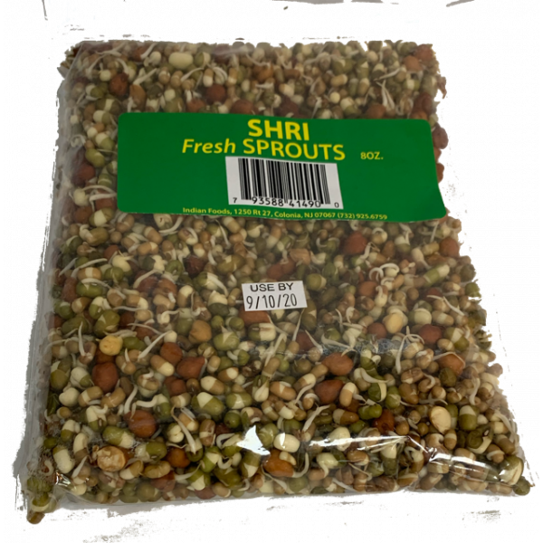 Fresh  Sprouts (Moong & Black Chana Mix)8 oz