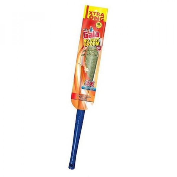 GALA No Dust Floor Broom (Freedom from New Broom Dust- Bhusa )/Washable/traps hair/3X Durable