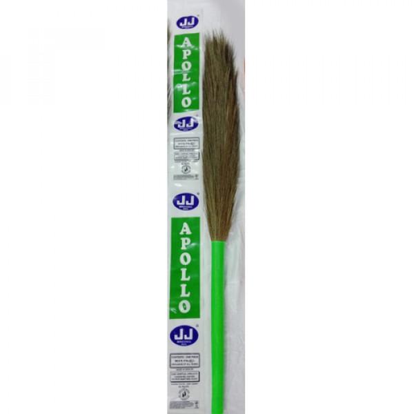 Grass Broom ( JJ Flora)/Light weight & Soft with Plastic handle