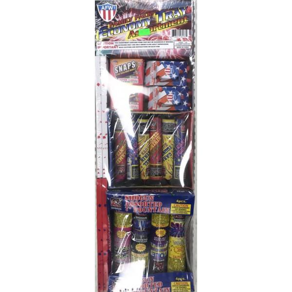 Diwali Firecrackers-Economic tray