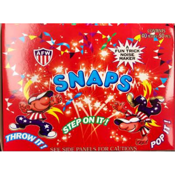 Diwali Firecrackers-Snaps /Step on it /Throw it (20 Boxes)