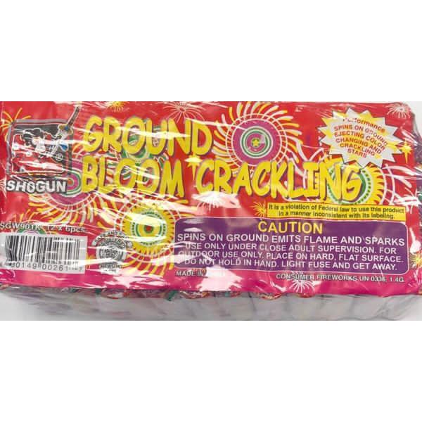 Diwali Firecrackers-Ground bloom crackling/Charlri/Round Sparkles/12x6 pcs