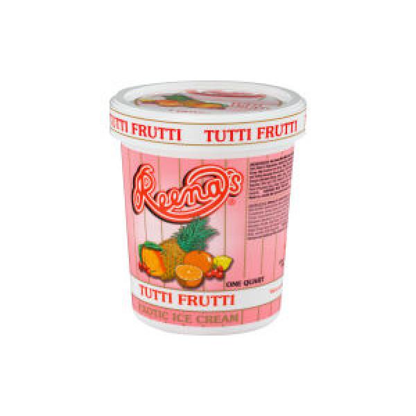 Reena Tuti Fruiti Ice Cream 1 Quat. 946 ml
