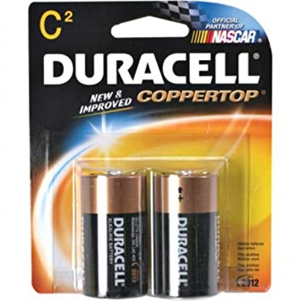 C -2  Duracell two battery
