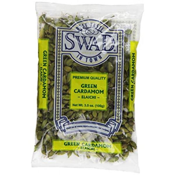 Swad Cardamom Black 7 Oz / 200 Gms