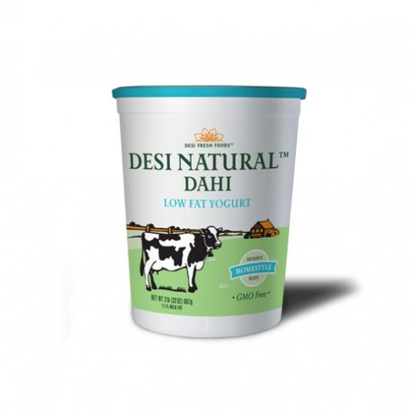 Desi Natural Dahi Low Fat  Yogurt 80 Oz / 2.27 KG