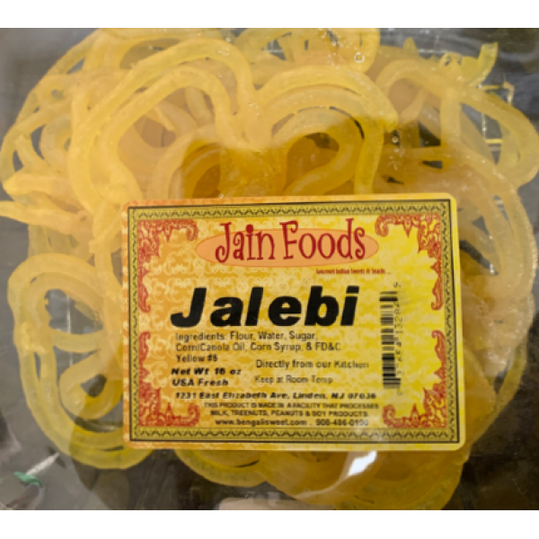 Jain Foods Jalebi 16 Oz (Yellow)