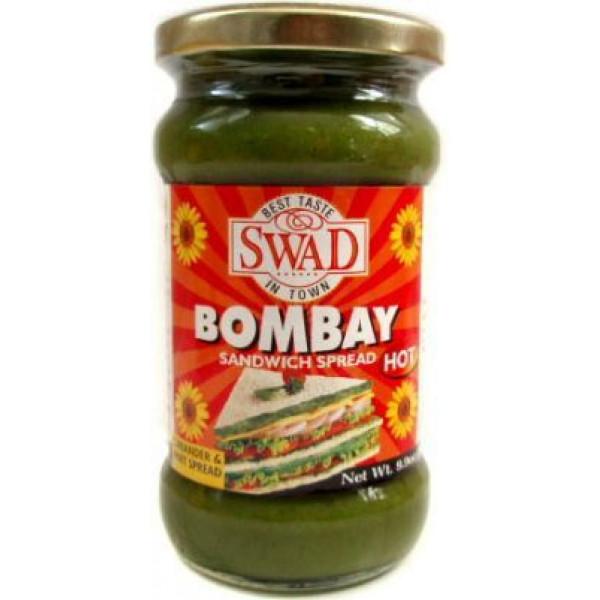 Swad Bombay Sandwich Spread Hot 9.9 Oz / 280 Gms