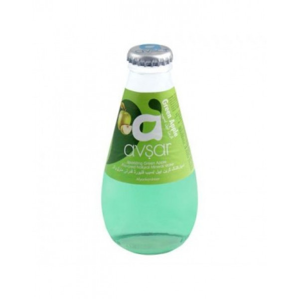 Avsar Green apple Sparkling Green Apple  Flavored Mineral Water  (200 ML)