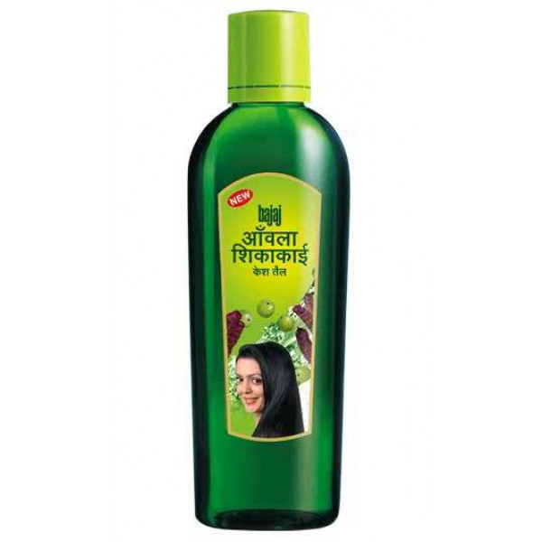 Bajaj Amla Shikakai Hair Oil 6.76 OZ / 200 Ml