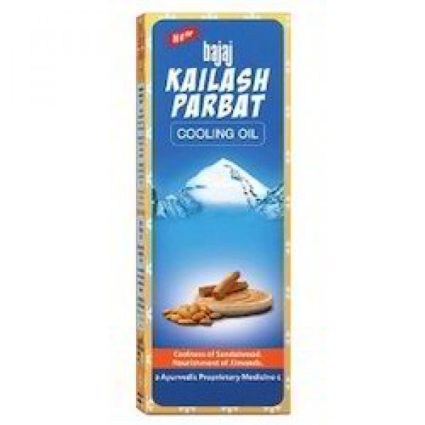 Bajaj Kailash Parbat Cooling Oil 6.76 OZ / 200 Ml