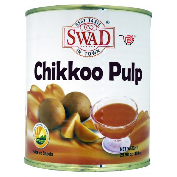 Swad Chikkoo  Pulp 29.9 Oz / 850 Gms