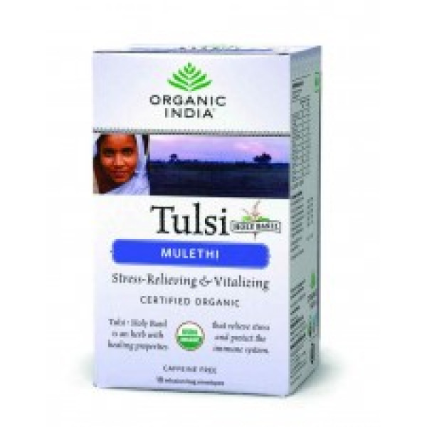 24 Mantra Organic India Tulsi Original 100Gms