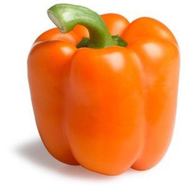 Fresh ORANGE PEPPER $/Lb