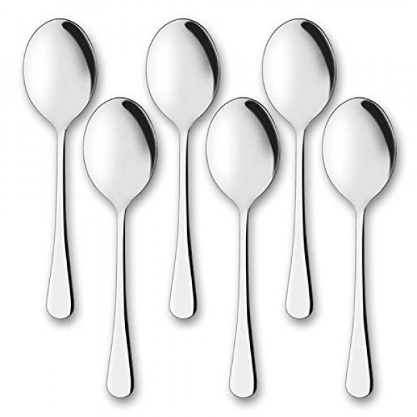 Super Shyne  Stainless steel Table Spoon 6pcs
