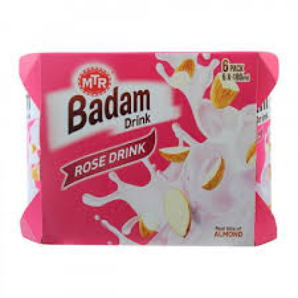 MTR Badam Rose Drink 6.4 Oz / 180 Gms
