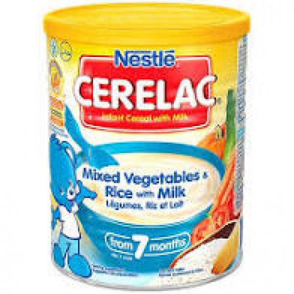 Nestle Ceralac Wheat- Rice Mixed Veg 10.54 OZ / 300 Gms