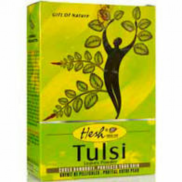 Hesh Tulsi Leaves Powder 3.5 OZ / 100 Gms