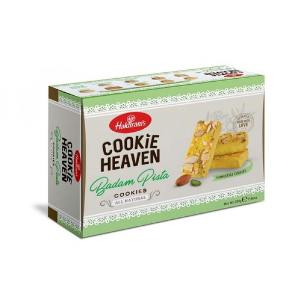 Haldiram's  Badam Pista Cookies 200 Gms