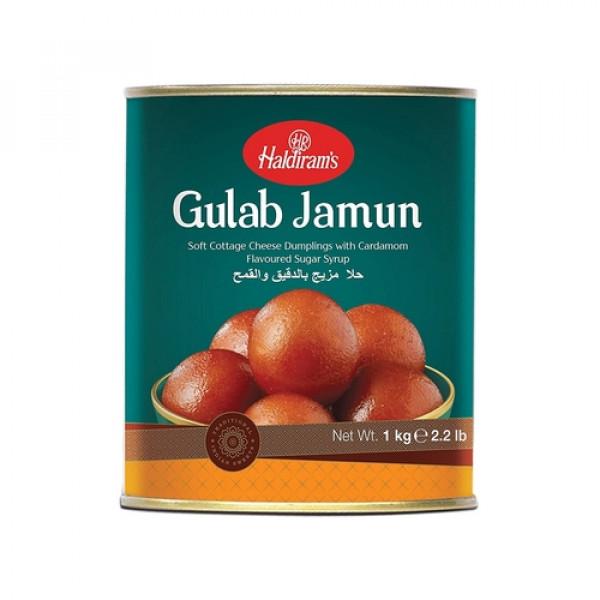 Haldiram's Gulab Jamun 35.28 OZ / 1000 Gms