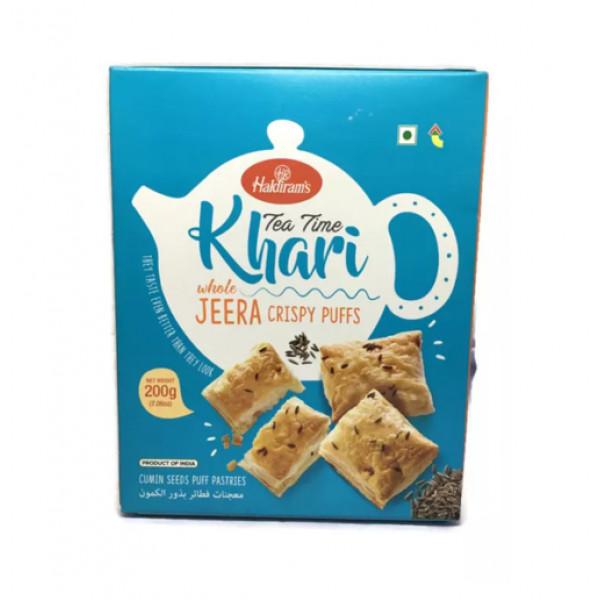 Haldiram's Jeera Tea Time Khari 14 Oz / 400 Gms