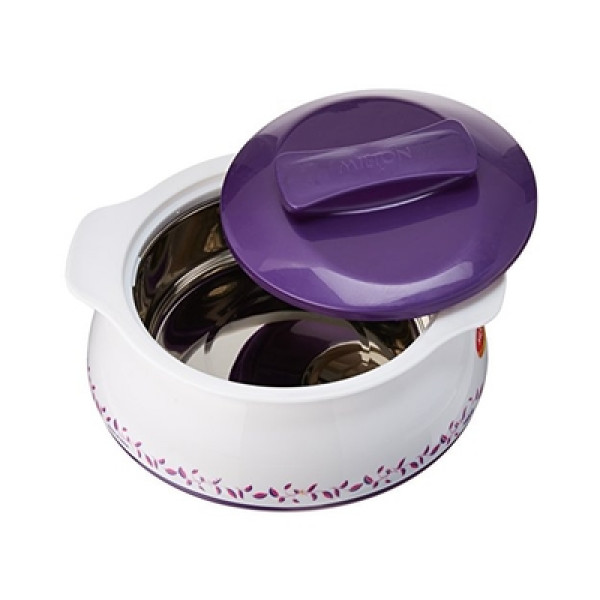 Milton insulated Casserole /Roti warmer Stainless steel Liner2500 ML(Tax Included)