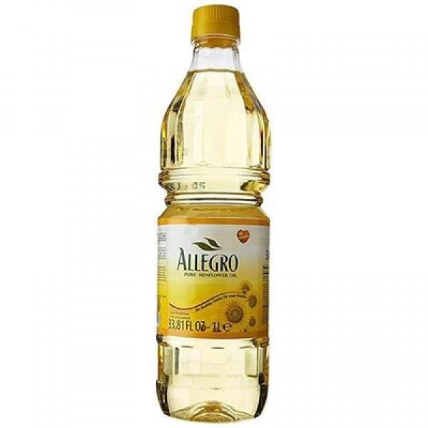 Allegro Pure Sunflower Oil 33.81 Fl Oz