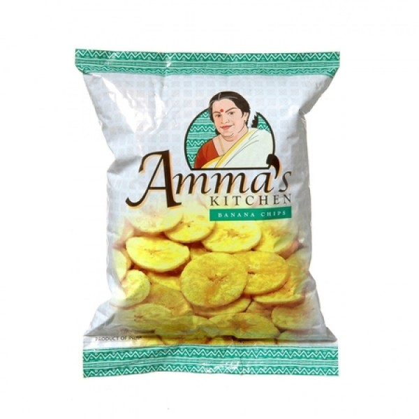 Amma's Kitchen Banana Chips 14 Oz / 400 Gms