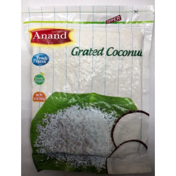 Anand Grated Coconut 16 Oz / 454 Gms