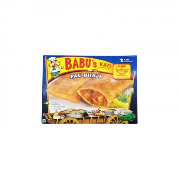 Babu's Kati Pau Bhaji 2 Pieces / 226 Gms