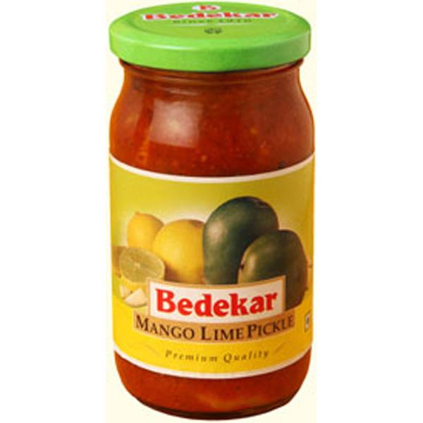 Bedekar Mango Lime Pickle 14 Oz / 400 Gms