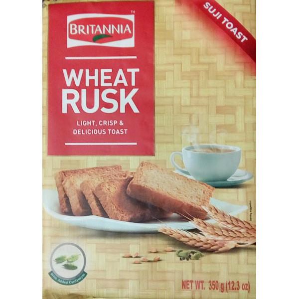 Britannia Wheat (Semolina) Rusk 350 Gms