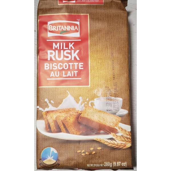 Britannia Milk Rusk 280 Gms
