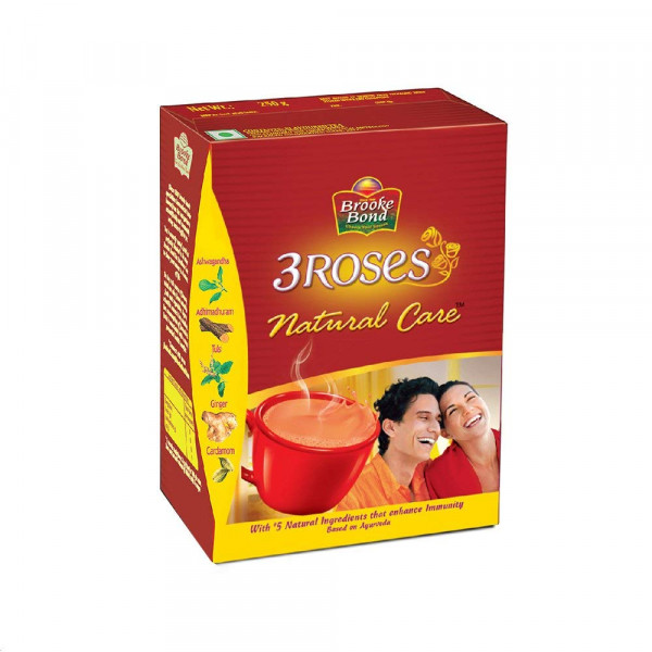 Brooke Bond 3 Roses Natural Care 250 Gms