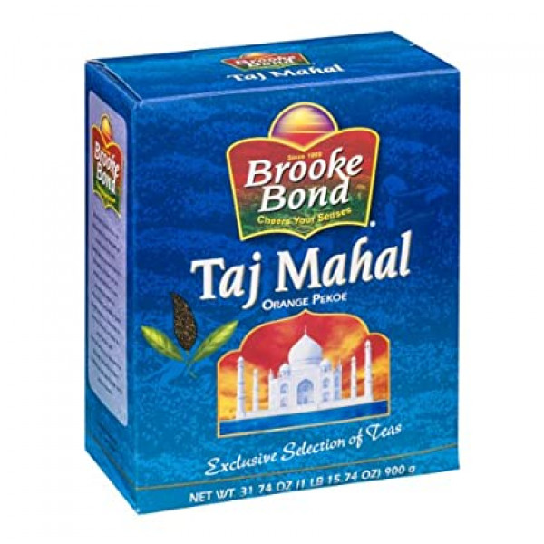 Brooke Bond Taj Mahal Organic Pekoe 31.74 OZ / 900 Gms